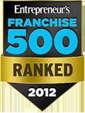 2012 Entreprenuer Franchise 500