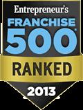 2013 Entreprenuer Franchise 500