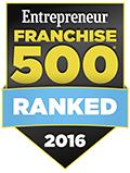 2016 Entreprenuer Franchise 500