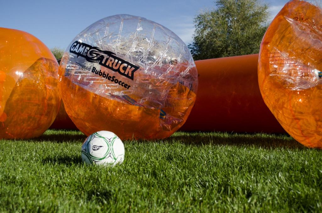 GameTruck Mobile BubbleSoccer