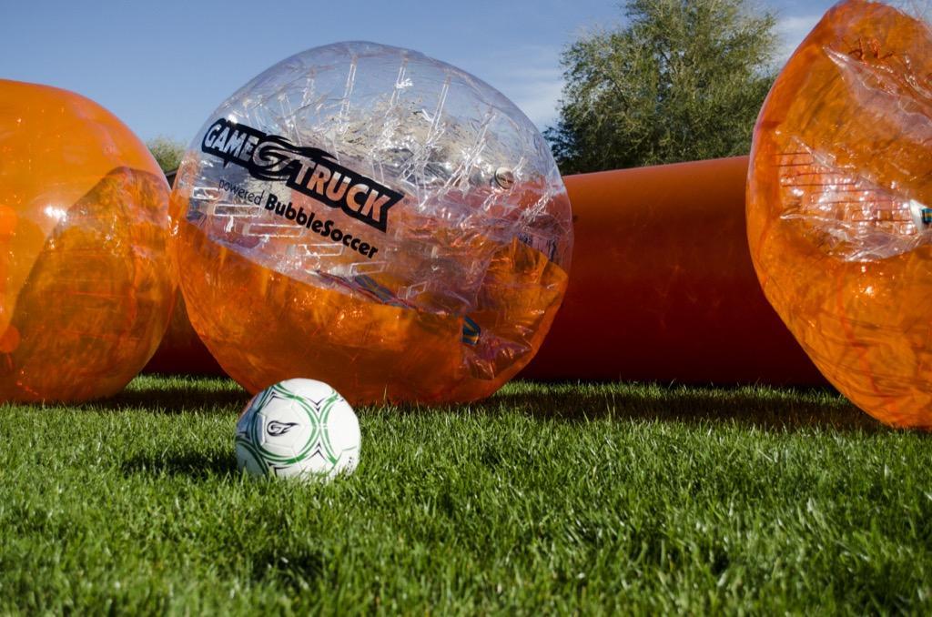GameTruck Mobile BubbleSoccer