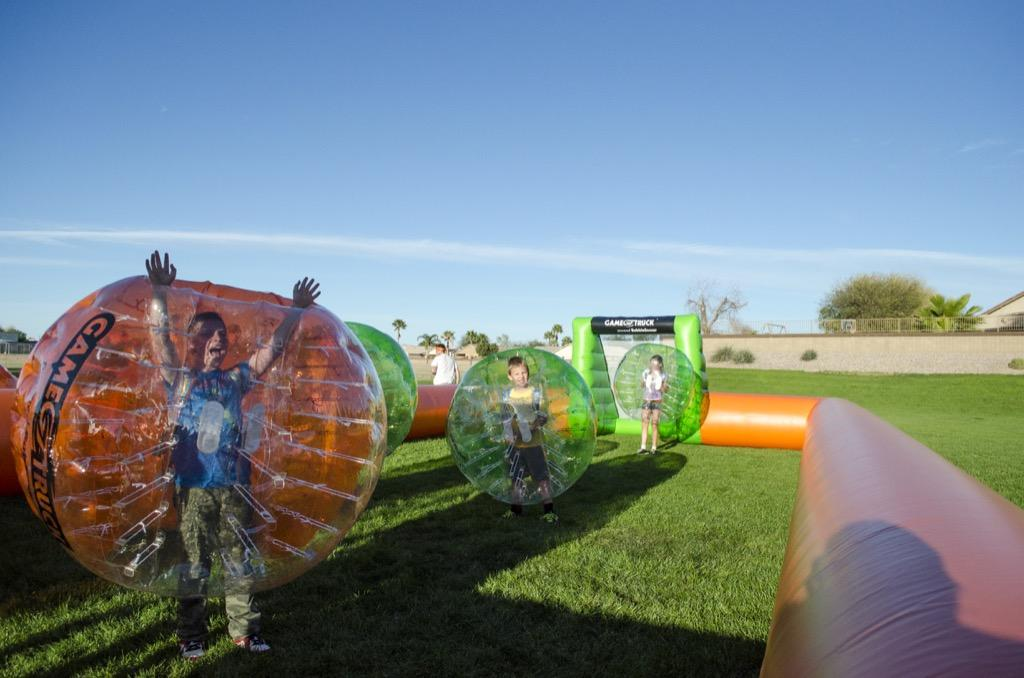 BubbleSoccer Mobile Gaming