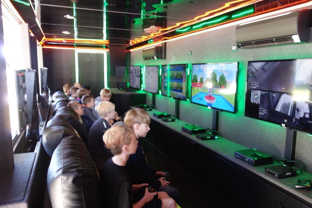 Gametruck Jacksonville Video Games Laser Tag Bubble