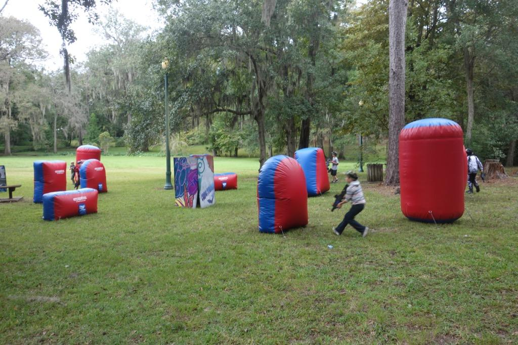 GameTruck Jacksonville Video Games LaserTag BubbleSoccer And - Backyard laser tag