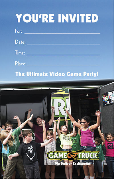 Video Game Invite
